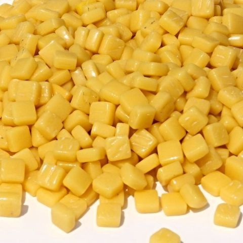 8mm Square Tiles - Lemon Sherbet Gloss - 50g